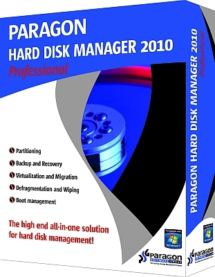 Paragon Hard disk manager 2010