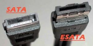 Différence cable Sata_vs_esata